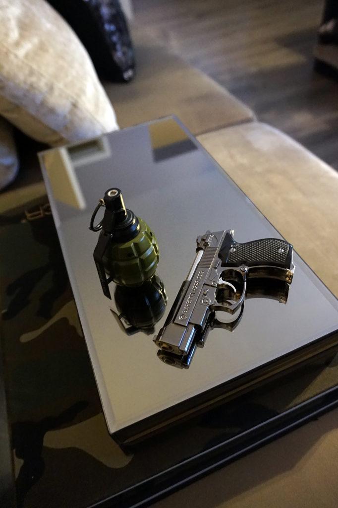 LADYKILLER | HANDGRANAAT | Gas aansteker gift cadeau mannencadeau aanstekers pistool origineel cadeau